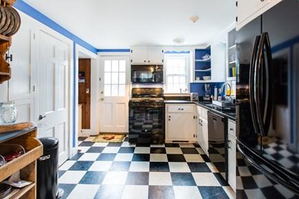 Hyannis Cape Cod vacation rental - Kitchen w/all new appliances:range, dishwasher, fridge, microwave