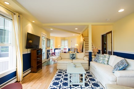 Hyannis Cape Cod vacation rental - Family Room, overlooking water