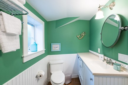 Hyannis Cape Cod vacation rental - Bathroom in guest cottage, walk in shower