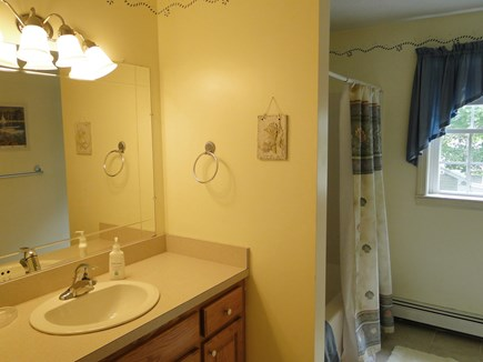 Colonial Acres, West Yarmouth Cape Cod vacation rental - Upstairs full bathroom with tub