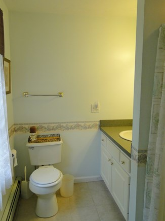 Colonial Acres, West Yarmouth Cape Cod vacation rental - Master bathroom with shower