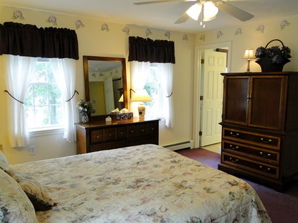 Colonial Acres, West Yarmouth Cape Cod vacation rental - Upstairs queen master with private bath