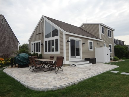 South Yarmouth Cape Cod vacation rental - Waterfront Patio