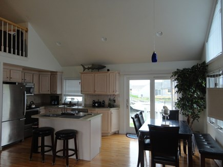 South Yarmouth Cape Cod vacation rental - Dining room and kitchen