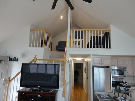 South Yarmouth Cape Cod vacation rental - Cathedral ceilings