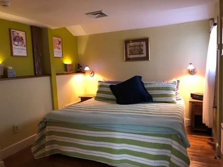 Provincetown Cape Cod vacation rental - Master en-suite offers a king bed & cedar closet