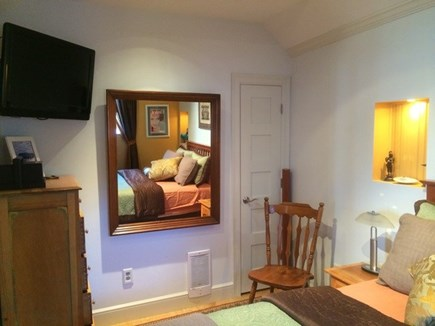 Provincetown Cape Cod vacation rental - Guest bedroom also offers a tv & closet