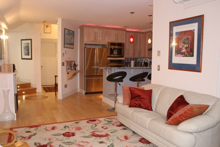 Provincetown Cape Cod vacation rental - Open living, dining and kitchen keeps everyone in the picture