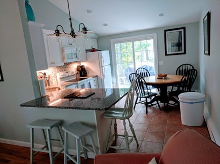 Brewster Cape Cod vacation rental - Easy entertaining! Open concept living room/kitchen (seats 10)