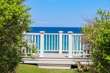 Dennis Cape Cod vacation rental - Deck View