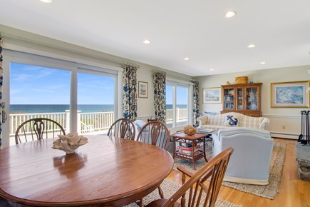 Dennis Cape Cod vacation rental - Open Dining to Living Areas