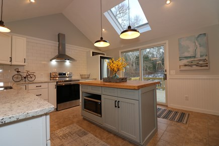 Harwich Cape Cod vacation rental - Cathedral ceiling kitchen just upgraded, all new appliances.