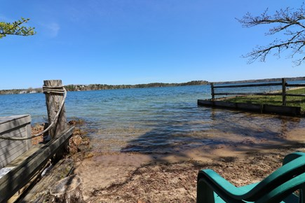 Harwich Cape Cod vacation rental - Deeded beach access to Long Pond .2 miles from house.