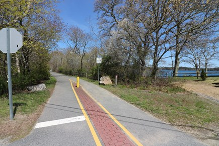 Harwich Cape Cod vacation rental - Cape Cod Bike Trail is .3 mile from house on side roads.