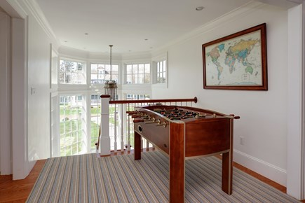 East Falmouth Cape Cod vacation rental - Second floor game table