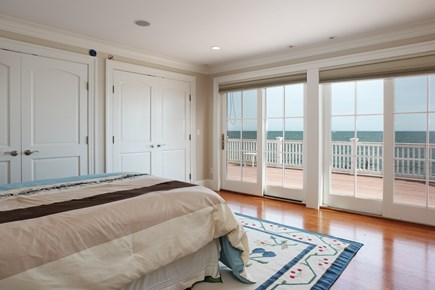 East Falmouth Cape Cod vacation rental - 2nd bedroom on second floor with Deck overlooking Ocean