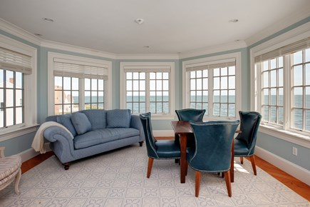 East Falmouth Cape Cod vacation rental - Sitting area in 2nd Floor Master Bedroom with amazing views