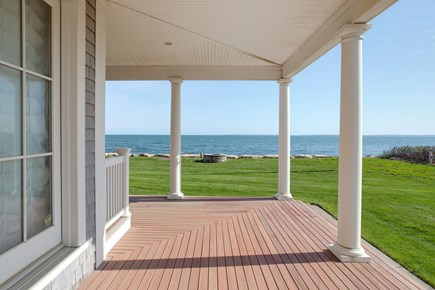 East Falmouth Cape Cod vacation rental - One of the many decks