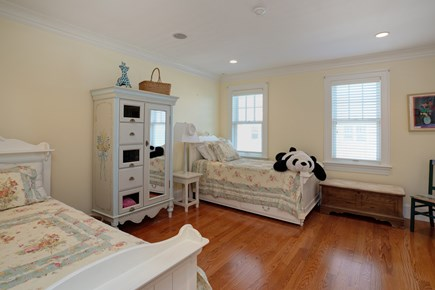 East Falmouth Cape Cod vacation rental - 2nd floor childs room with 2 twin bebs