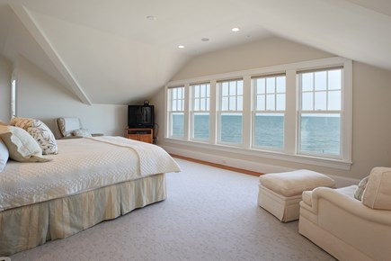 East Falmouth Cape Cod vacation rental - 3rd Floor Master Bedroom with amazing views and 2 Balconies