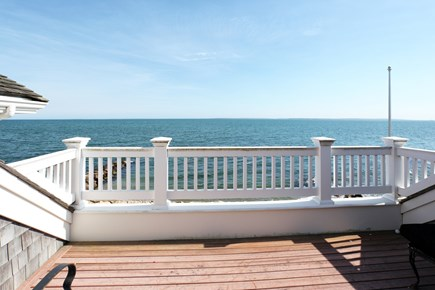East Falmouth Cape Cod vacation rental - 3rd floor Private Balcony off of Master Bedroom