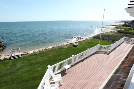 East Falmouth Cape Cod vacation rental - On a clear day you can see to Martha's Vineyard