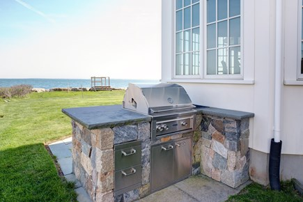 East Falmouth Cape Cod vacation rental - Grill in the outdoor kitchen