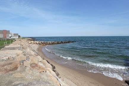 East Falmouth Cape Cod vacation rental - Private Beach on Vineyard Sound in your back yard