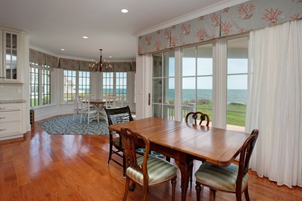 East Falmouth Cape Cod vacation rental - There are numerous areas to entertain for dining or board games.