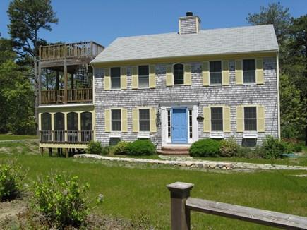 Wellfleet Cape Cod vacation rental - Screened porch, decks for summer relaxing.