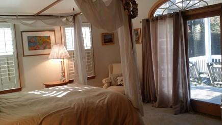 Wellfleet Cape Cod vacation rental - Main bedroom.