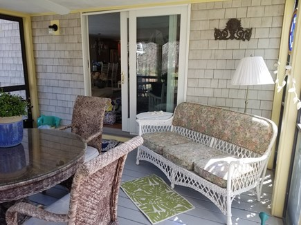 Wellfleet Cape Cod vacation rental - More screened in porch