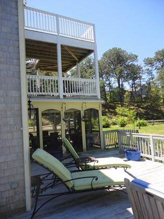 Wellfleet Cape Cod vacation rental - Decks abound.