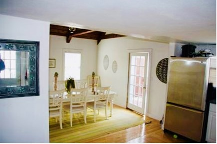 Dennis Village Cape Cod vacation rental - View from kitchen to dining room