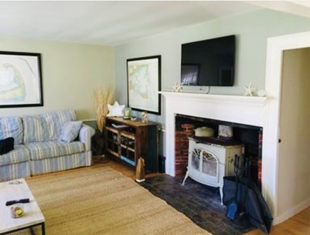 Dennis Village Cape Cod vacation rental - Living room with TV
