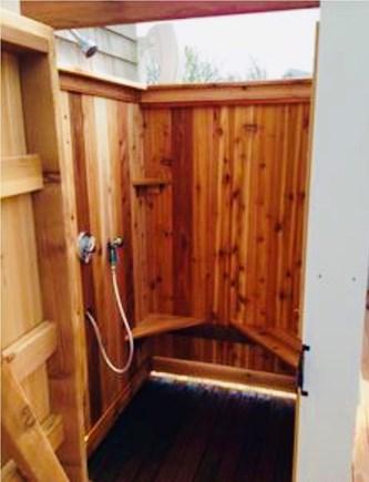 Dennis Village Cape Cod vacation rental - Outdoor Shower Interior