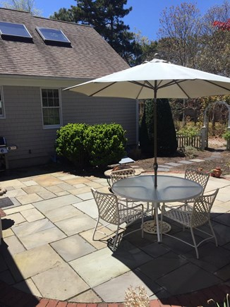 West Harwich Cape Cod vacation rental - Access to totally private outdoor patio from family room