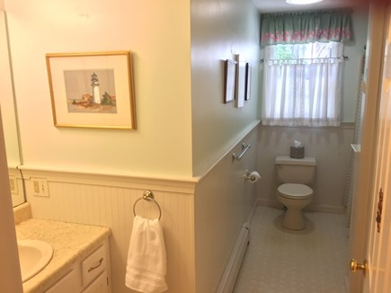 West Harwich Cape Cod vacation rental - Second full-size bath with washer and dryer