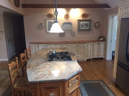 West Harwich Cape Cod vacation rental - Kitchen island