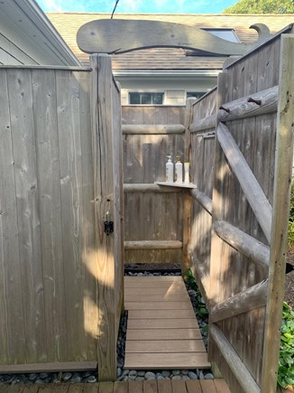 West Harwich Cape Cod vacation rental - Spacious, new private outdoor shower