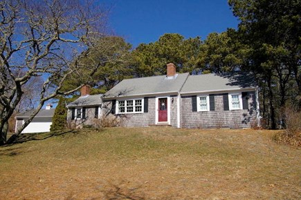 Eastham Cape Cod vacation rental - Front yard overlooking marsh