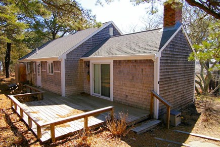 Eastham Cape Cod vacation rental - Deck (to be furnished with table, chairs and umbrella)