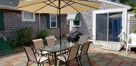Dennis Cape Cod vacation rental - Rear private patio