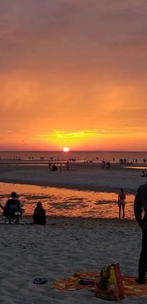 Dennis Cape Cod vacation rental - Mayflower Beach sunset a must do picnic