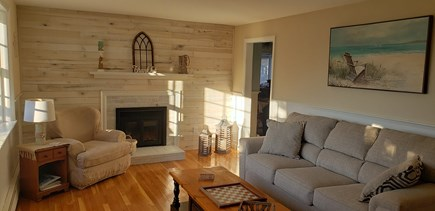 Dennis Cape Cod vacation rental - Front Living room with queen sofa