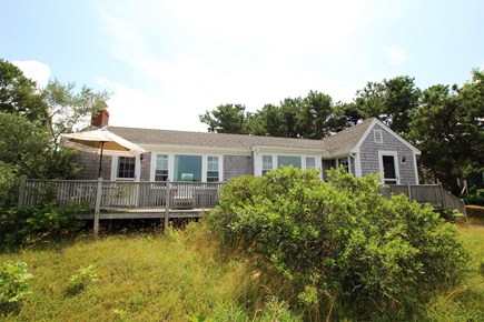 Eastham Cape Cod vacation rental - Back of cottage