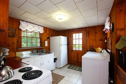 Eastham Cape Cod vacation rental - Kitchen with washer and dryer