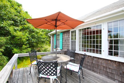 Eastham Cape Cod vacation rental - Deck