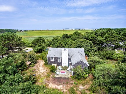 Eastham Cape Cod vacation rental - Overhead view