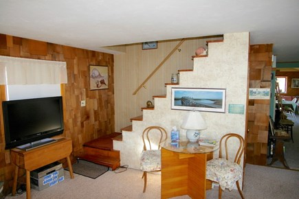 North Eastham Cape Cod vacation rental - TV in living area
